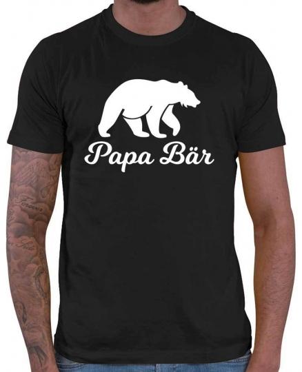 Papa Bär Herren T-Shirt // 20 Farben, XS - 5XXL