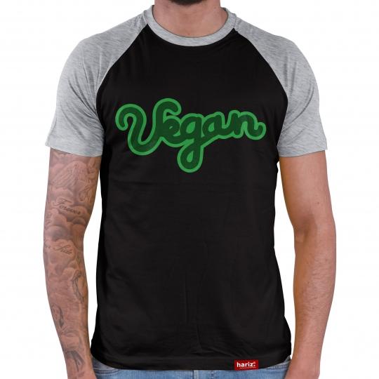 Vegan 3 Herren Baseball Shirt // 10 Farben, XS-4XL