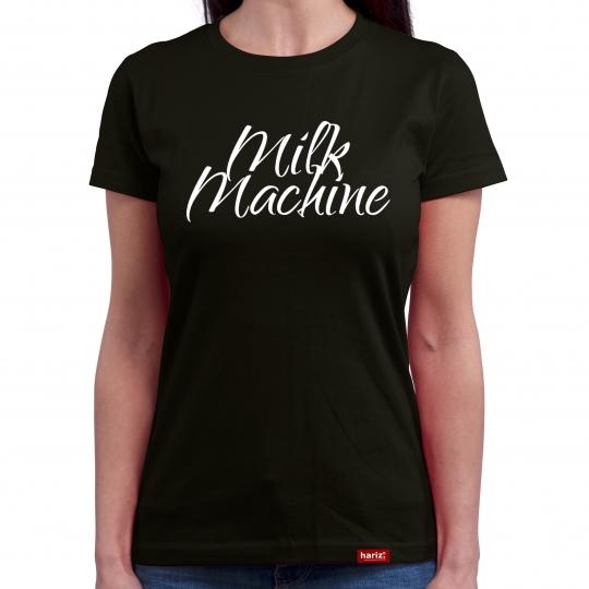 Milk Machine Damen T-Shirt Rundhals // 16 Farben, XS-4XL
