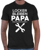 Locker bleiben Papa macht das schon T-Shirt // 16 Farben, XS-4XL