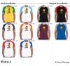 Pixbros Schlandmoji Herren Baseball Shirt // 10 Farben, XS-4XL