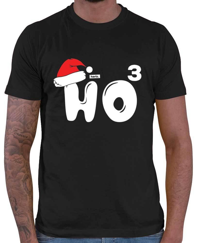 T Shirt Weihnachten.Weihnachten Ho Ho Ho Nikolaus Mütze