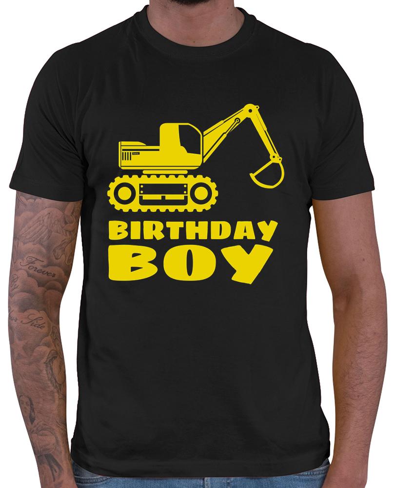 Birthday Boy Bagger Herren T Shirt 20 Farben XS