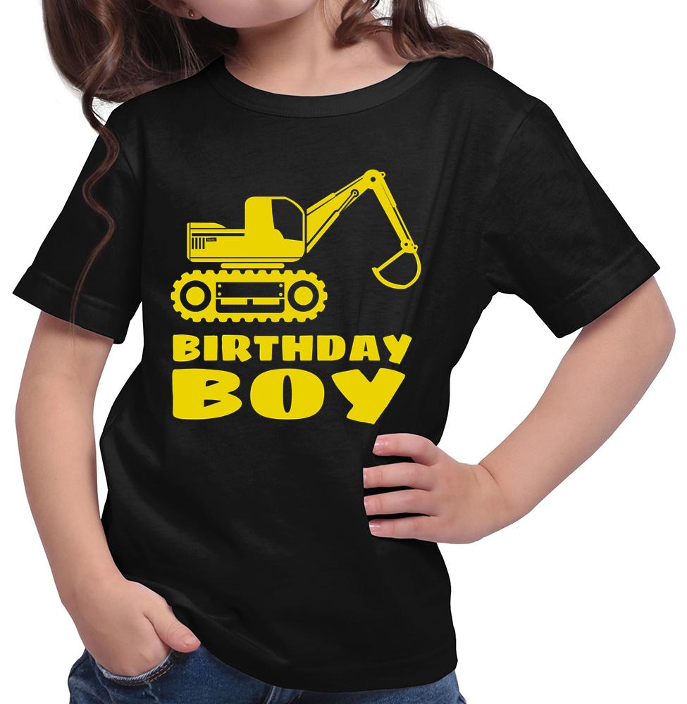 Birthday Boy Bagger Madchen T Shirt 14 Farben 104